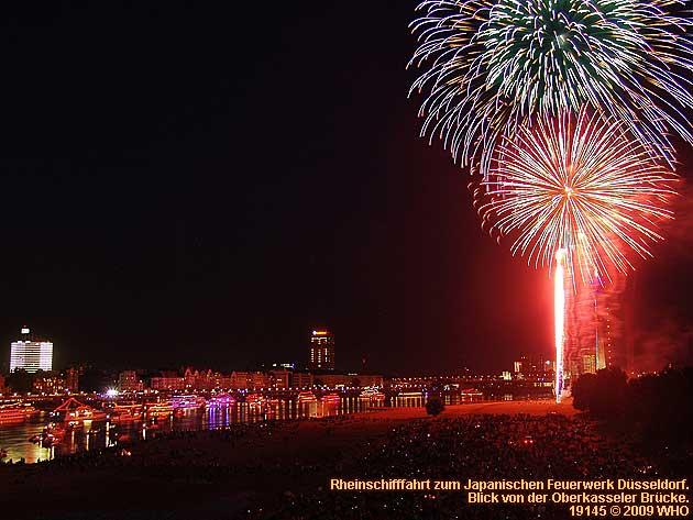 Feuerwerk Kirmes Düsseldorf 2021
