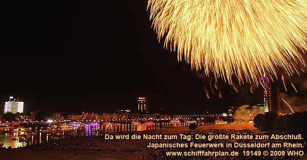 Kirmes Düsseldorf 2021 Feuerwerk